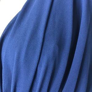 Lulu's Dresses - NWT Lulu's Blue Formal Chiffon Maxi Dress A060676